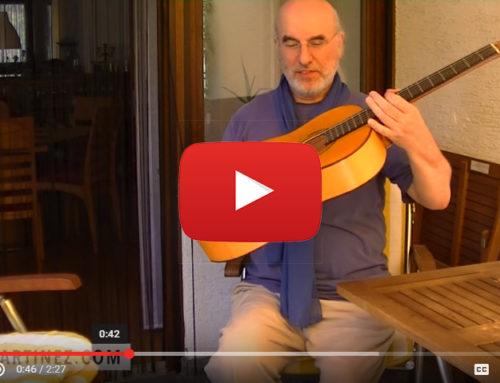 הבחור הזה בנה גיטרה קלאסית מתקפלת שאתם מוכרחים לראות!